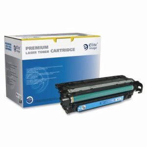 Elite Image Toner Cartridge, 6,000 Page Yield, Cyan (ELI75817)