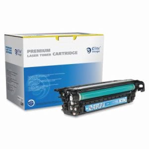 Elite Image Toner Cartridge, 12,500 Page Yield, Cyan (ELI75864)