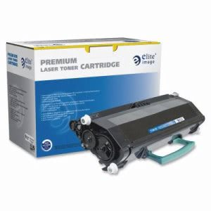 Elite Image Toner Cartridge, 3,500 Page Yield, Black (ELI75870)