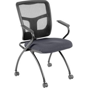 "Lorell Guest Chair, 24""x24""x26"", Chambray, 2/CT (LLR8437405)"