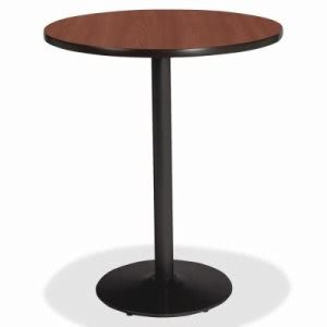 "Lorell Round Bistro Table Top, 36"", Mahogany (LLR89062)"