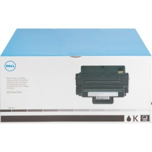 Dell Toner Cartridge, f/B2375, 3,000 Page Standard Yield, Black (DLLNWYPG)