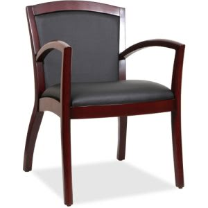 Lorell Arched Arms Wood Guest Chair (LLR20011)