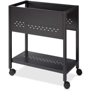 "Lorell 24"" File Cart, Black (LLR25965)"