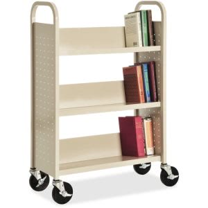 Lorell Single-sided Book Cart (LLR49204)