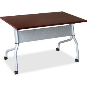 Lorell Mahogany Flip Top Training Table (LLR60722)
