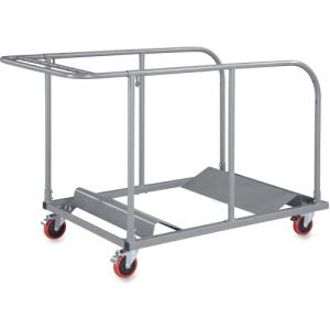 Lorell Round Planet Table Trolley Cart (LLR65955)