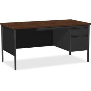 Lorell Fortress Series Right-Pedestal Desk (LLR66905)