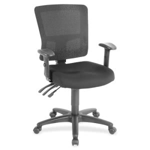 Lorell Low-Back Mesh Chair (LLR85565)