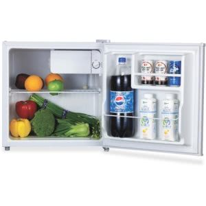 Lorell 1.6 cu.ft. Compact Refrigerator, White, 1 Each (LLR72310)