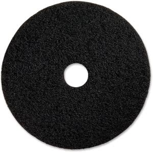 "Genuine Joe Black Floor Stripping Pad, 20"" Diameter, 5 Pads (GJO90220)"