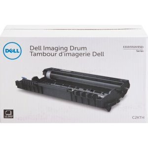 Dell Imaging Drum, f/ E310dw, 12,000 Page Yield, BK (DLLC2KTH)