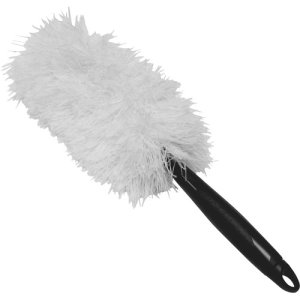"Impact Microfiber 2-In-1 Handheld 20"" Duster, Black/White, Each (IMP3149)"
