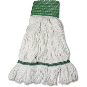 Impact Products Saddle Type Wet Mop Refill, Medium, Green Headband (IMPL166MD)