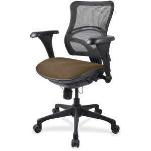 Lorell Mid-back Fabric Seat Chair (LLR2097806)