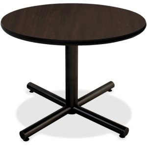 "Lorell Hospitality Espresso Laminate Round Tabletop, 36"" (LLR62576)"