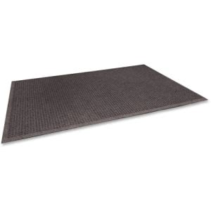"Genuine Joe EcoGuard Floor Mat, 24""x 36"", Brown, Each (GJO59456)"