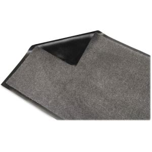 "Genuine Joe Silver Series Entry Mat, 36"" x 120"", Charcoal, Each (GJO59459)"
