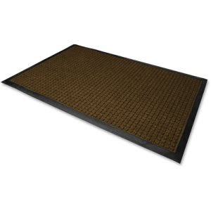"Genuine Joe WaterGuard Floor Mat, 36"" x 120"", Brown, Each (GJO59461)"