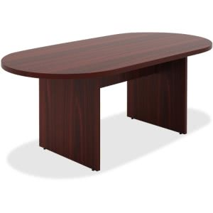 Lorell Chateau Series Mahogany 6' Oval Conference Table (LLR34336)