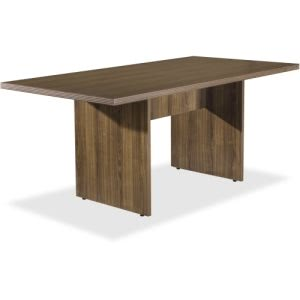 Lorell Chateau Series Walnut 6' Rectangular Table (LLR34341)