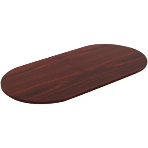 Lorell Chateau Series Mahogany 8' Oval Conference Tabletop (LLR34342)