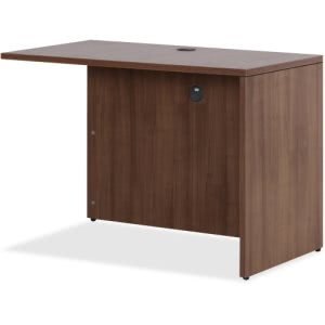 Lorell Walnut Laminate Office Suite Desking (LLR69980)