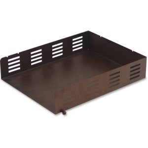 Lorell Stamped Metal Front Loading Letter Tray, 1 Each (LLR84248)