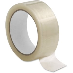 "Sparco 1.6mil Hot-melt Sealing Tape, 3"" x 110 yd, 24/Carton (SPR74948)"