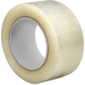 "Sparco 2.5mil Hot-melt Sealing Tape, 3"" x 55 yd, 24/Carton (SPR74953)"