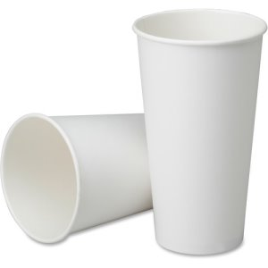 SKILCRAFT Disposable Cups, 32oz., White, 1,000 Cups (NSN6457876)
