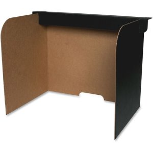 "Flipside Privacy Screen, Large, 22""x18""x16"", 24/PK, BK/BN (FLP61855)"