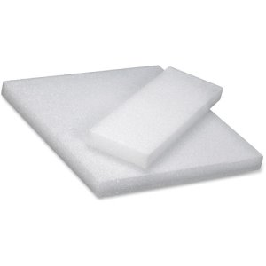 "Hygloss Styrofoam Craft Blocks, 4""x12"", White, 6 Blocks (HYX51504)"