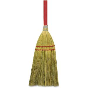 "Genuine Joe Corn Fiber & Wood Toy Broom, 24"" Handle (GJO11501EA)"