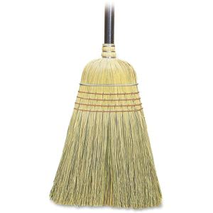 "Genuine Joe Corn Fiber Warehouse Broom, 38"" Handle (GJO12001CT)"