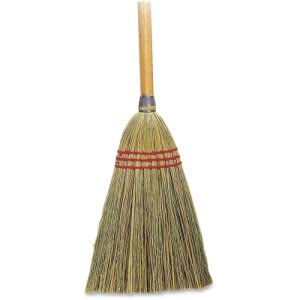 "Genuine Joe Lobby Toy Broom, 34"" Handle, 100% Corn Fiber, Each (GJO12501       )"