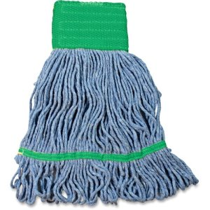 Impact Products Wet Mop Head, w/Tailband, Looped-End, 12 Mopheads (IMPL270MDCT)