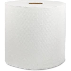 Livi Universal Roll Towel, 1-Ply, 6RL/CT, White (SOL46529)