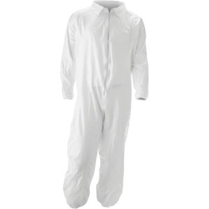 Impact MALT Promax Coverall, Small, White, 25 Coveralls (IMPM1017S)