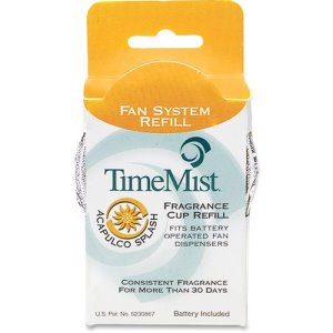 TimeMist Fragrance Cup Refill, Acapulco Splash, 12 Cups (TMS1044935CT)