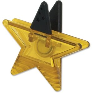Ashley Magnetic Star Clip, Gold (ASH10233)