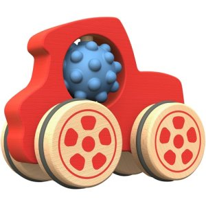 BeginAgain Nubble Rumbler Truck, 18 Mth And Older, Red (BGAB1311)