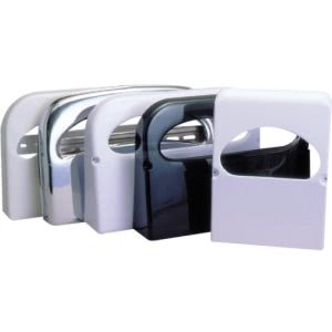 Impact Plastic Toilet Seat Cover Dispenser, Smoke Gray, Each (IMP25131900)