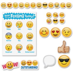 Creative Teaching Press Emoji Board Set, 6 Borders/ST (CTC8884)