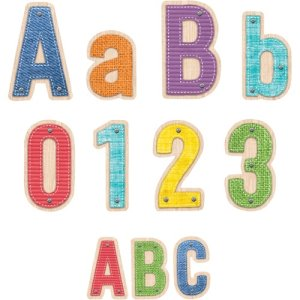 Creative Teaching Press Upcycle Style Letters Pack, 276/PK, MI (CTC8914)