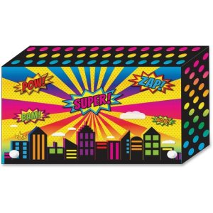 "Ashley Superhero Index Cards Holder, 4""x6"", 5/PK, MI (ASH90450)"