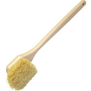 "Genuine Joe 20"" Tampico Utility Brush with Eyelet, White (GJO98218)"