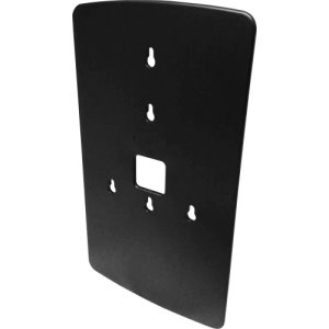"Genuine Joe Omnipod Dispenser Wallplate, 11.5"", Black, Each (GJO14463)"