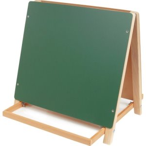 "Flipside Tabletop Easel, 18""Wx18-1/2""H, Double-Sided, 1 Each (FLP17305)"