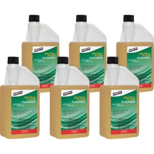 Genuine Joe Floor Cleaner, Concentrated, 32-oz, 6 Bottles (GJO99671CT)